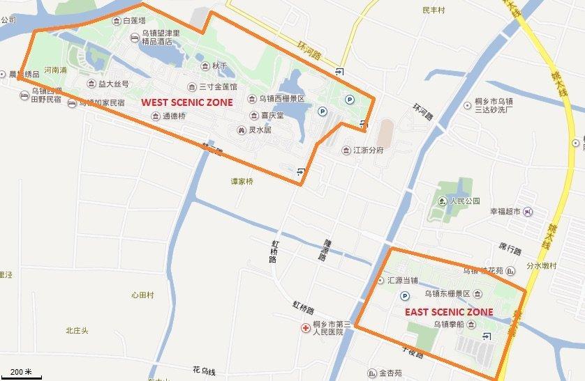 Wuzhen Map
