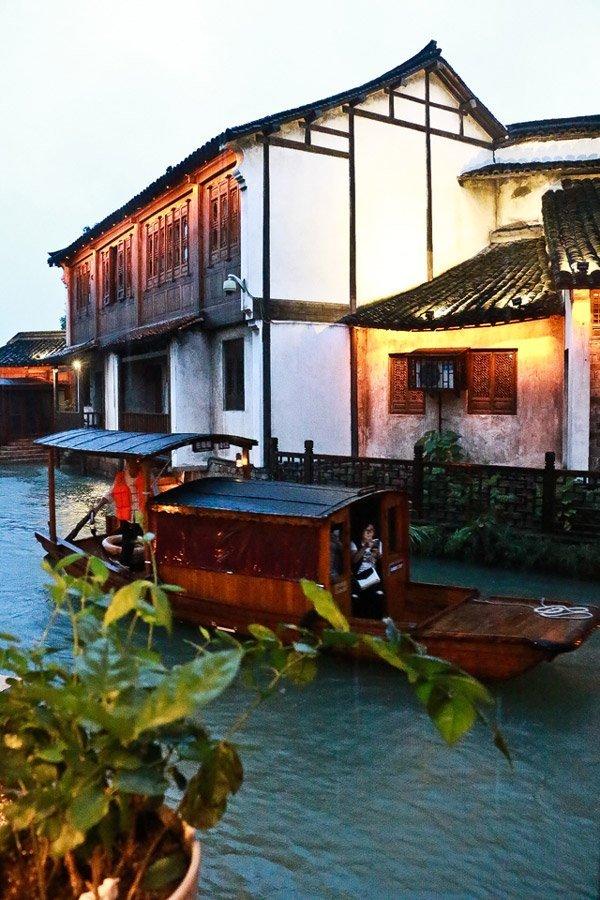 Tramonto a Wuzhen