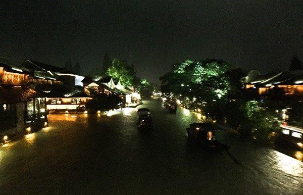 Wuzhen by night
