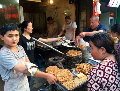 Chinese Street-Food Breakfast