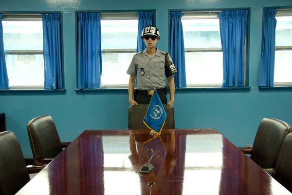 JSA al confine con la Corea del Nord