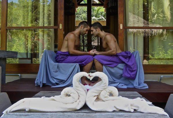 Spa lovers ritual in Malaysia