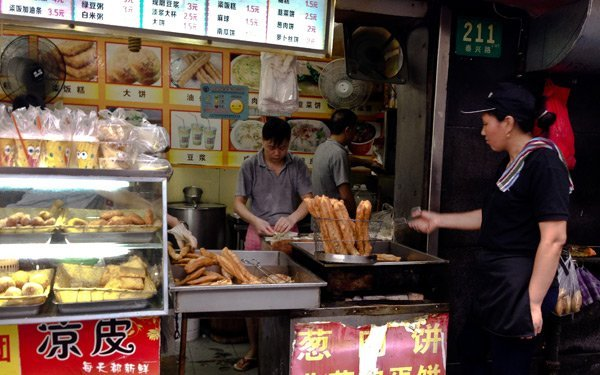 Colazione in Cina