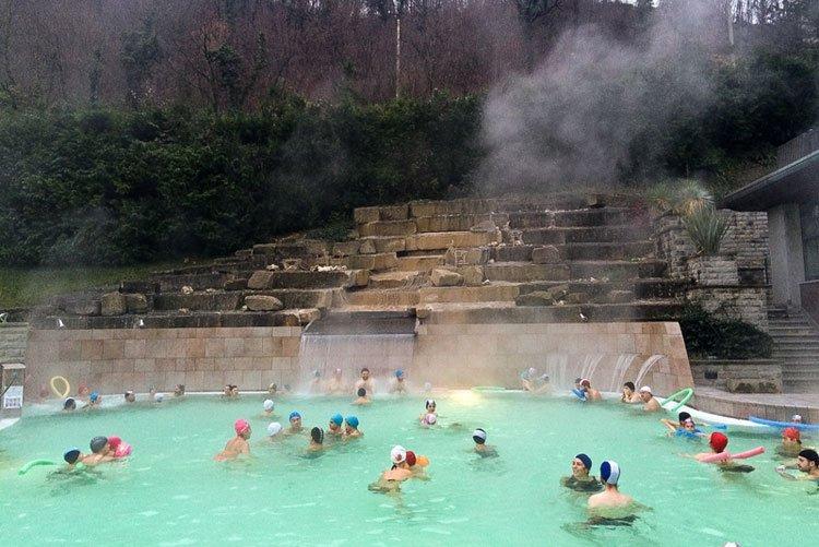 bagno di romagna italy spa trekking