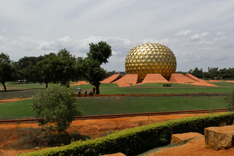 Auroville India Matrimandir Pondicherry