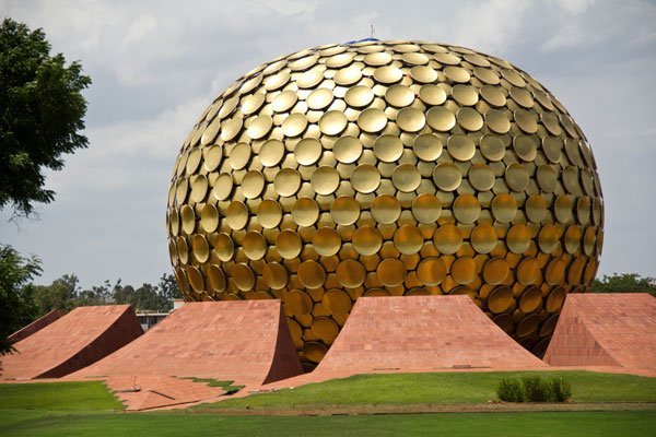 Auroville India Matrimandir Pondicherry