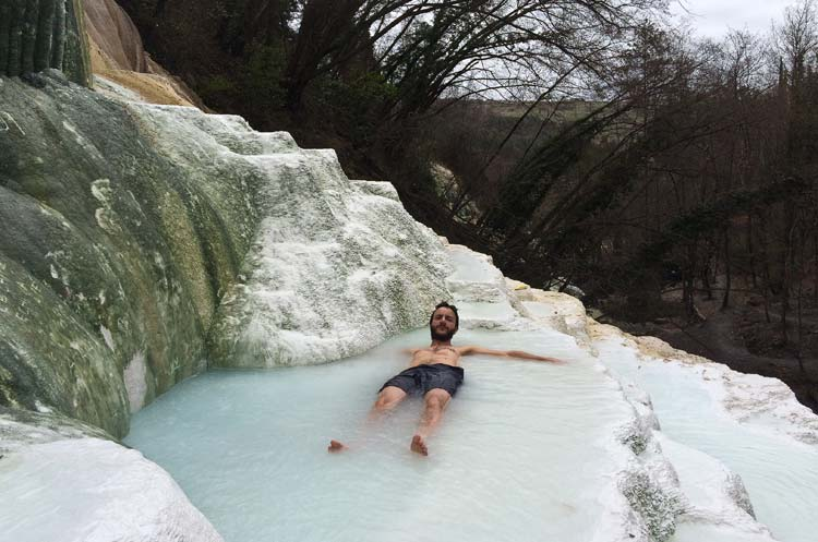 free hot springs in tuscany bagni san filippo