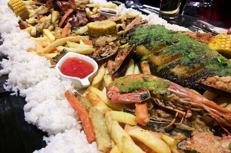 Filipino Food Padua Kusinang Pinoy