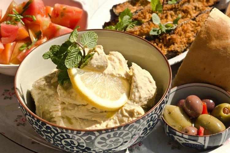 Hummus Palestine Israeli Food