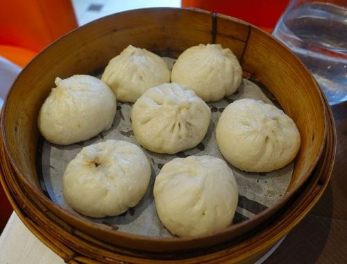 Baozi Panini Vapore Cucina Cinese