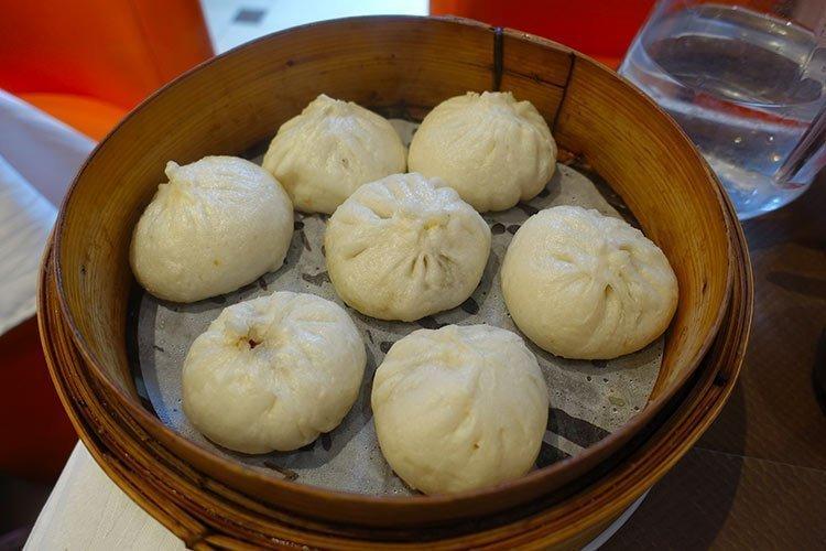 Baozi I Panini Al Vapore Tradizionali Della Cucina Cinese
