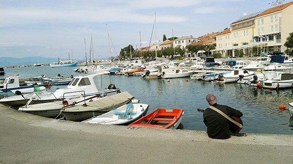 Krk Malinska Croazia Bassa Stagione