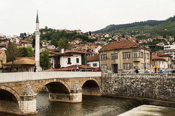 Foto Complesso Carattere Sarajevo