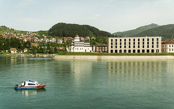 Visegrad Bosnia Ponte Sulla Drina Ivo Andric