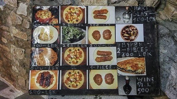 Ristoranti Dove Mangiare Berata Albania Homemade Food Lili