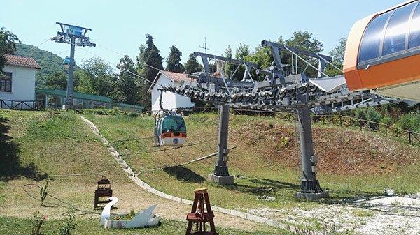 Millenium Cross Skopje Monte Vodno Cable Car