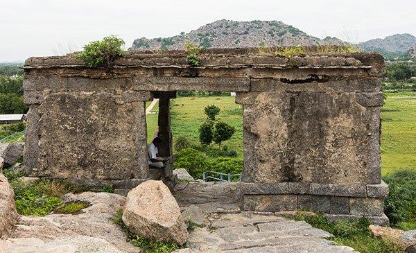 Gingee Città Fortificata Tamil Nadu India