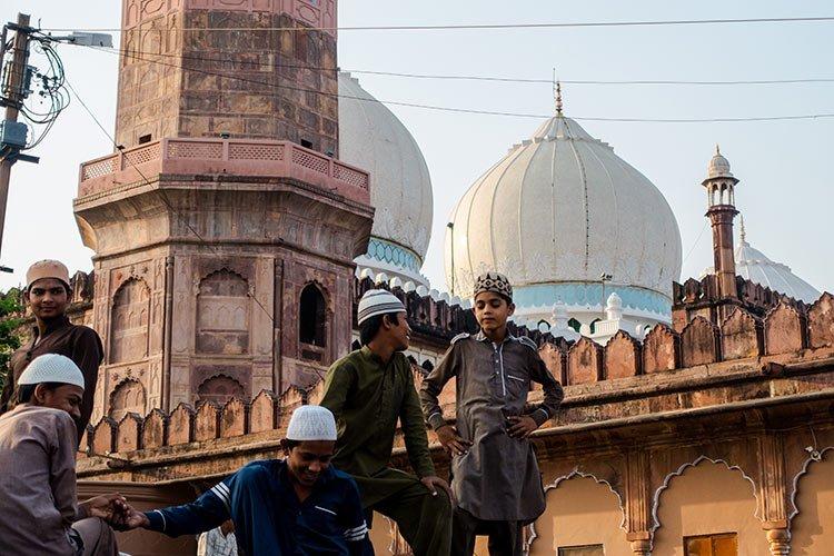 Bhopal Madhya Pradesh India Architettura Moghul