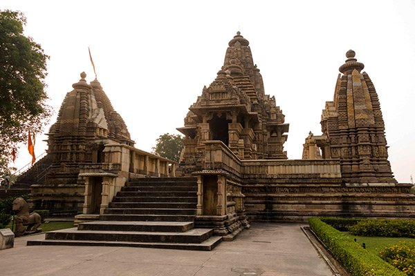 Khajuraho India Templi Kamasutra Arte Erotica
