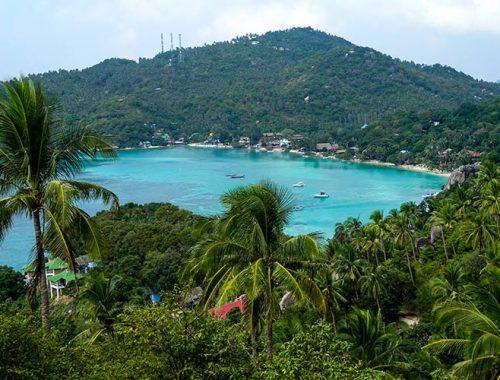 John Suwan Viewpoint Migliore Panorama Koh Tao Thailandia