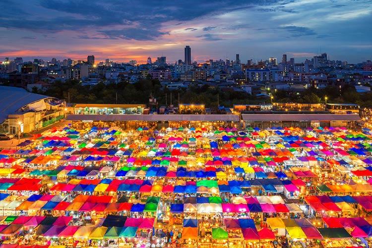 Chatuchak Market Bangkok Mercato Piu Grande Asia