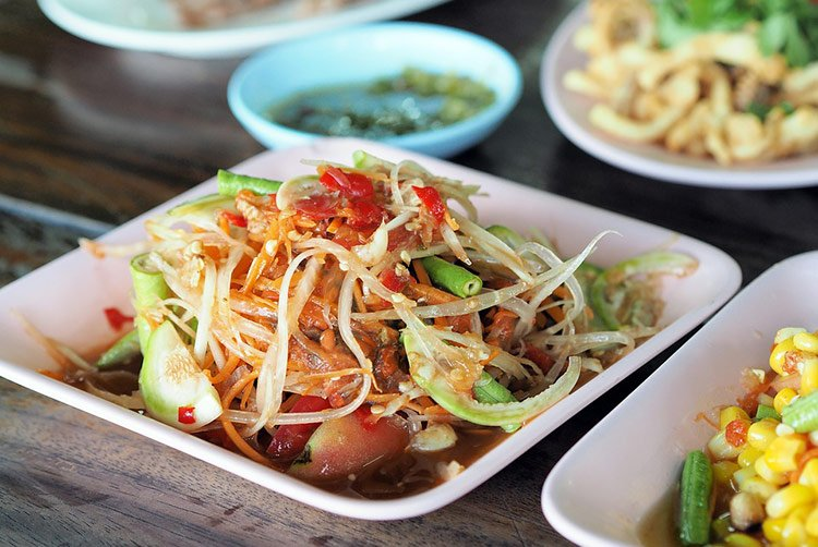 Insalata di papaya papaya salad piatto speciale della for Piatto della cucina povera