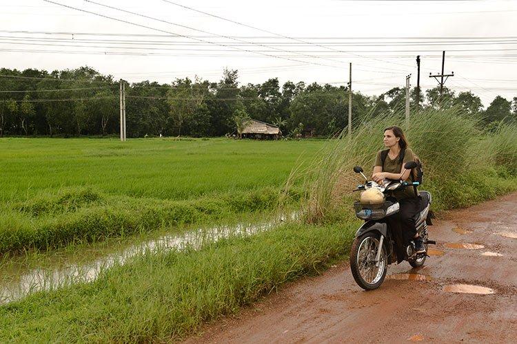 Patente Internazionale Guidare Motorino Thailandia