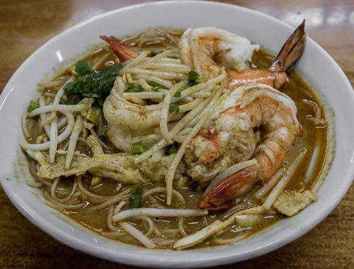 Zuppa Noodles Piatto Cucina Thailandese