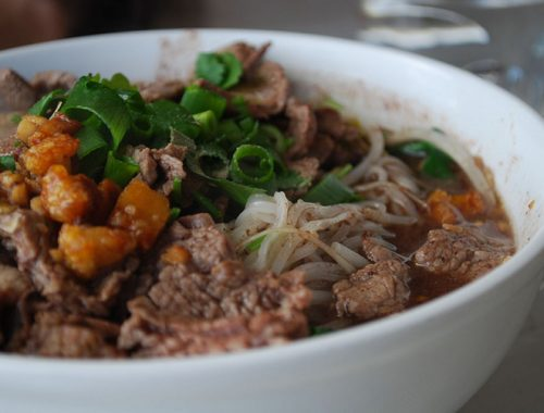 Boat Noodles Cucina Thailandese Zuppa Ayutthaya
