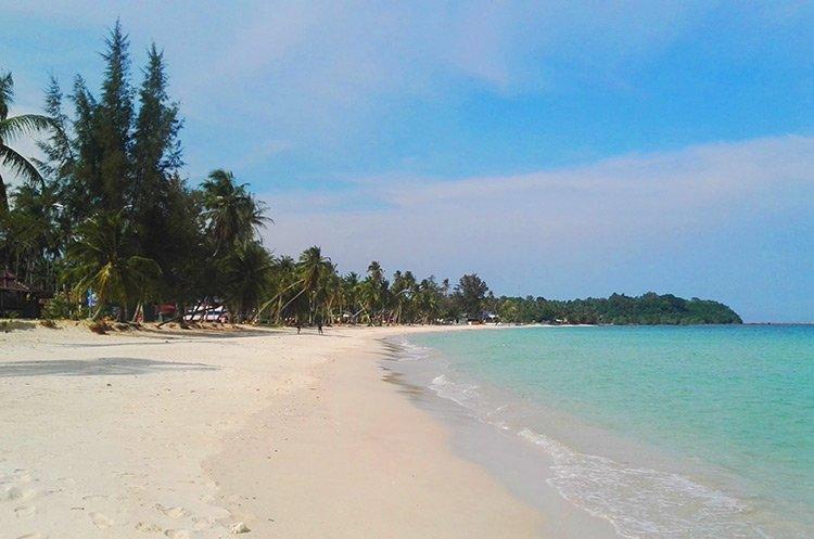 Thung Wua Laen Chumpon Spiaggia Deserta Thailandia