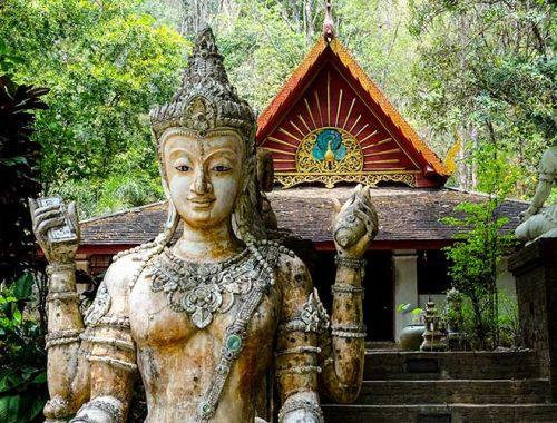 Chiang Mai Trekking Wat Pha Lat Wat Doi Suthep