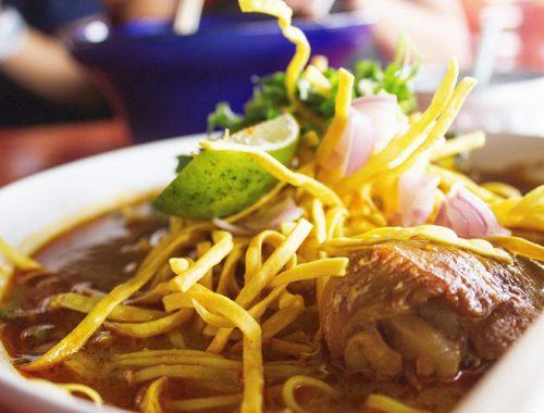 Ricetta Khao Soi Zuppa Chiang Mai