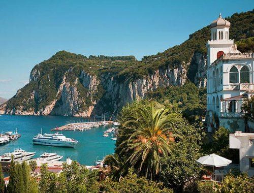 Come Arrivare Capri Napoli Roma Sorrento