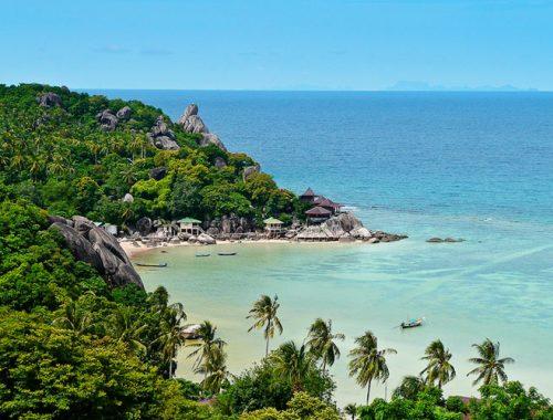 Migliori Spiagge Koh Tao Thailandia Snorkeling Diving