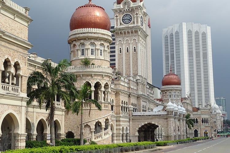 Visitare Masjid James Colonial Walk Kuala Lumpur