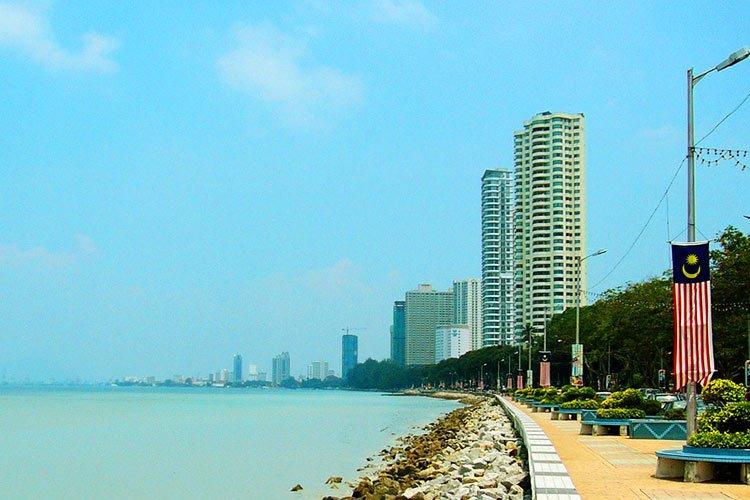 Cosa Vedere Penang Malesia Mare Spiagge Cibo