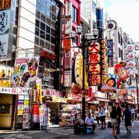 Cosa Vedere Minami Namba Dotonbori Shinsaibashi Osaka Giappone
