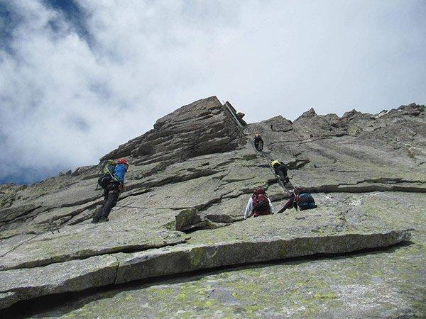 Guida Vie Ferrate Piu Impegnative Piemonte