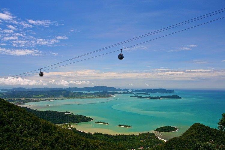 Pulau Langkawi Isola Perfetta Vacanza Mare Malesia