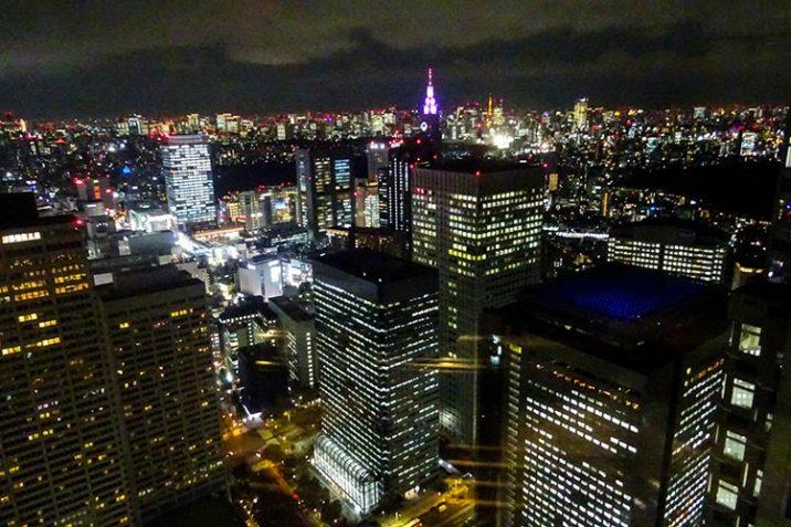 Vedere Tokyo Alto Gratuitamente Migliore Vista Panoramica