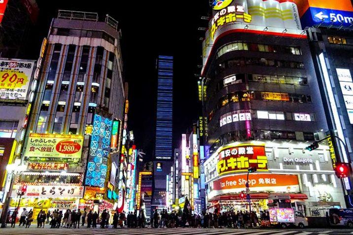 Vita Notturna Tokyo Giappone Migliori Quartieri Nightlife