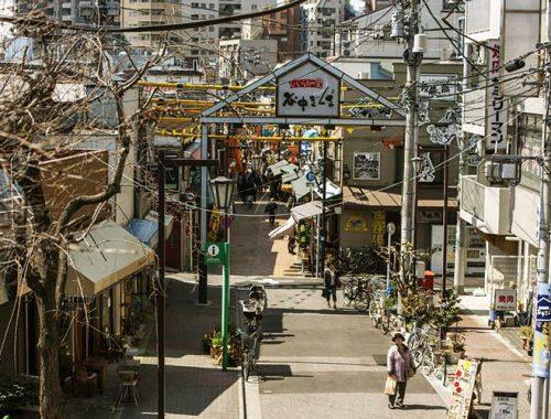 Vecchia Tokyo Shitamachi Quartieri Antichi Tradizionali