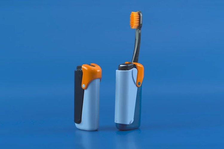 Spazzolino Dentifricio Prodotti Igiene Orale Viaggio