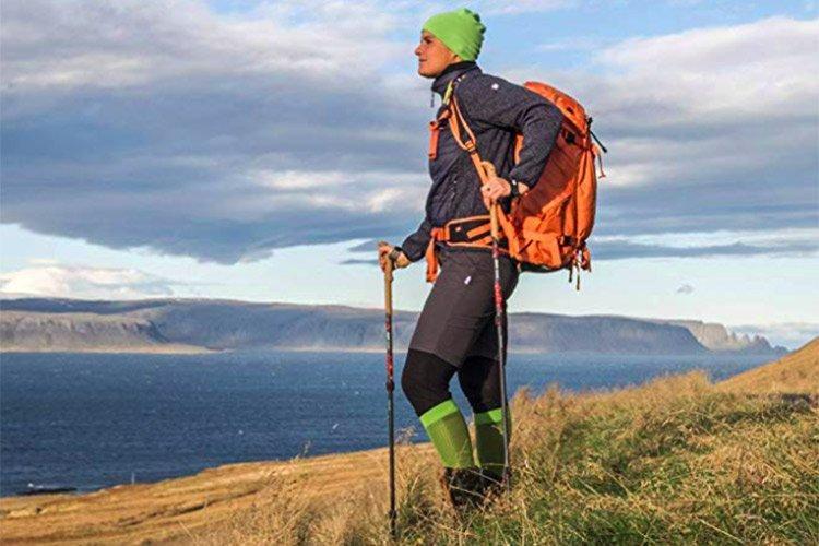 Calzini Escursione Trekking Antizecca Contro Insetti