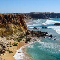 Scogliere Sagres Cabo Sao Vicente Algarve Gita Lagos
