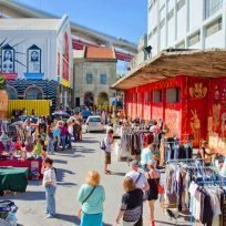 Migliori Mercati Lisbona Non Solo Feira Ladra Mercato Ribeira
