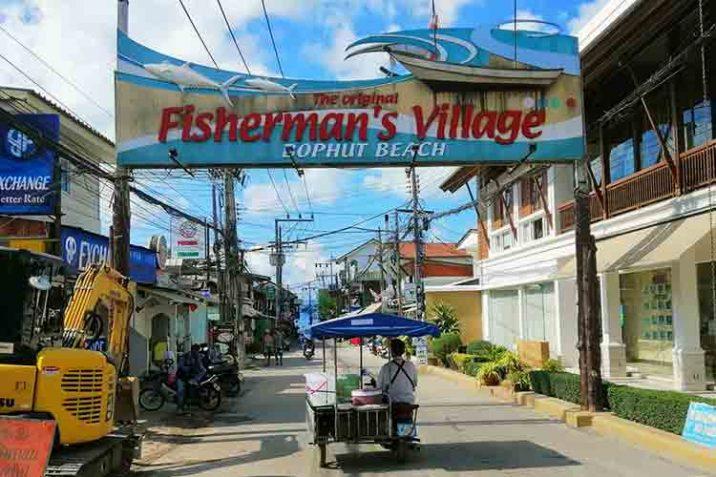 Fishermans Village Walking Street Koh Samui Thailandia