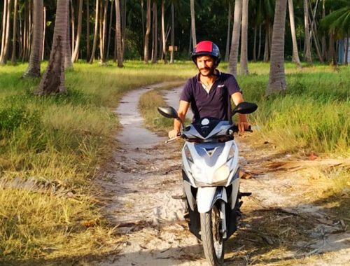 Come Dove Noleggiare Scooter Koh Phangan Thailandia