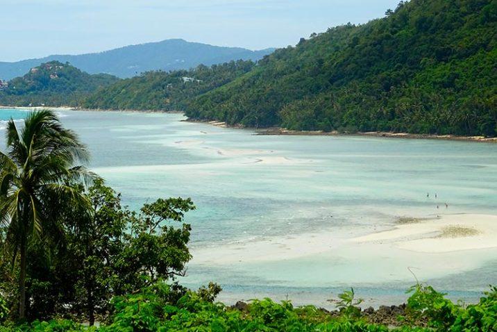 Spiagge Zone Fare Snorkeling Koh Phangan Thailandia