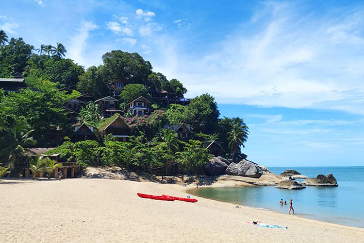 Dove-Alloggiare-Koh-Phangan-Thailandia-Zone-Migliori-Dormire